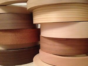 Details About Real Iron On Wood Veneer Edging Tape Trim 22mm 30mm 40mm 50mm