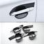 ABS Carbon Fiber Outer Door Bowl Cover Trim For Mitsubishi Outlander 2016-2018