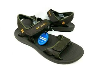NEW-Columbia-Men-039-s-Sport-Strap-Sandals-Brown-Grey-YM5363255-d9c-a