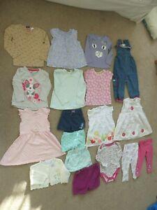Girls-Large-Summer-Bundle-18-24-Months-Gap-f-amp-f-dresses-tops-bottoms