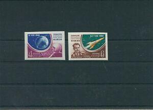 Sovijet-Sowjetunion-1961-Mi-2521-2522-B-Neuf-MNH-Astronautique-Espace