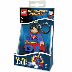 Lego-Dc-Super-Heroes-Superman-LED-Lite-Torche-Porte-Cle-Neuf