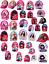 Le Ragazze Personaggio Disney Princess /& Frozen Berretto Da Baseball Taglia 2-8 anni