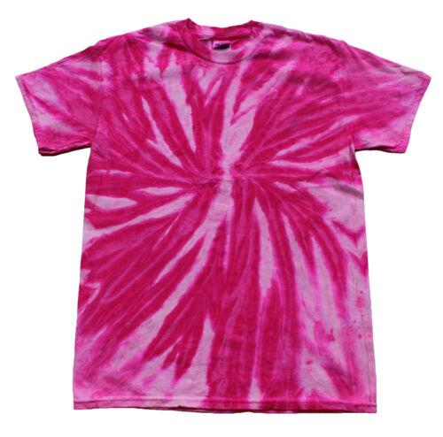 Twist Pink Bubblegum Tie Dye T-Shirts  S M L XL 2XL 3XL 4XL 5XL Colortone-Gildan