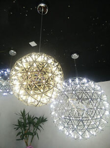 New stainless steel led firework chandelier ball raimond pendant image is loading new stainless steel led firework chandelier ball raimond aloadofball Images