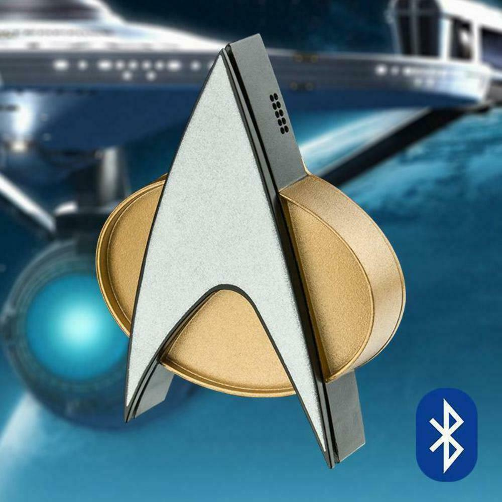 Star Trek TNG blutooth Communicator Badge