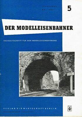 """""""il Modello Ferroviere"""" N. 5-annata 8-maggio 1959-ner"""" Nr. 5 - Jahrgang 8 - Mai 1959 It-it Mostra Il Titolo Originale"""