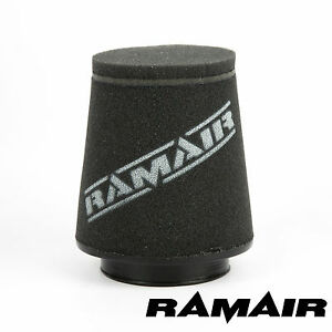 RAMAIR-INDUCTION-FOAM-AIR-FILTER-UNIVERSAL-CONE-80mm-OFFSET-NECK-MADE-IN-THE-UK