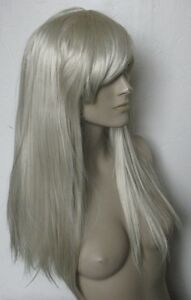 light blonde long straight fringe quality hair wig fancy dress cosplay free cap - Slough, United Kingdom - Return in 7 days, unused Most purchases from business sellers are protected by the Consumer Contract Regulations 2013 which give you the right to cancel the purchase within 14 days after the day you receive the item. Find out more - Slough, United Kingdom