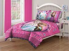 Comforter Full Size Frozen Anna Elsa Disney Shams Sheet Set Princess Bedroom New