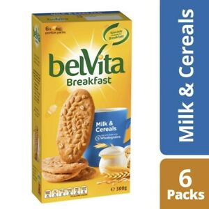 Belvita Milk and Cereals Breakfast Biscuits 6 Pack 300g