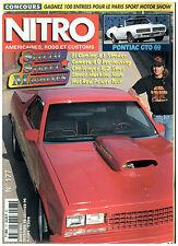 NITRO n°177 PONTIAC GTO CAB'69/EL CAMINO'81/CAMARO'67/CHALLENGER R/T'70 +poster