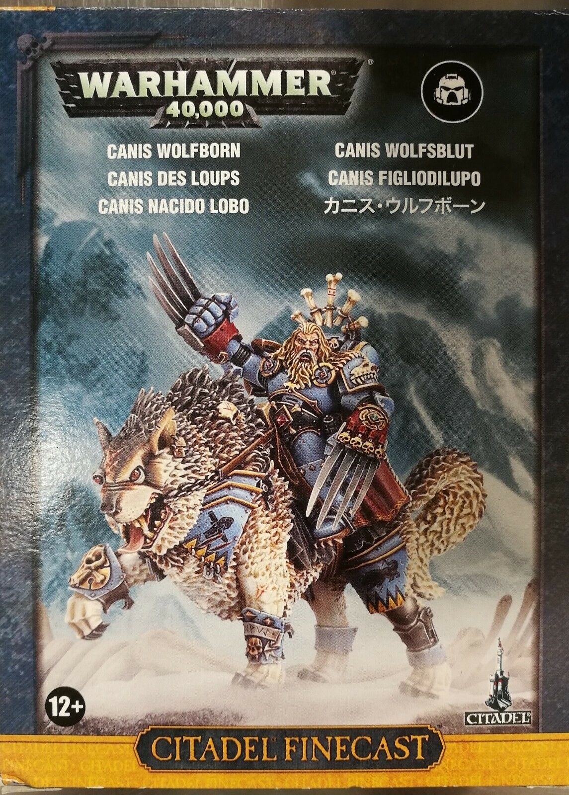 Warhammer - Canis Wolfborn - Canis Figliodilupo - Citadel Finecast - New