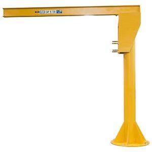 NEW-HD-Floor-Mounted-Jib-Crane-4000-Lb-Cap-12-039-Under-Beam-Height-10-039-Span