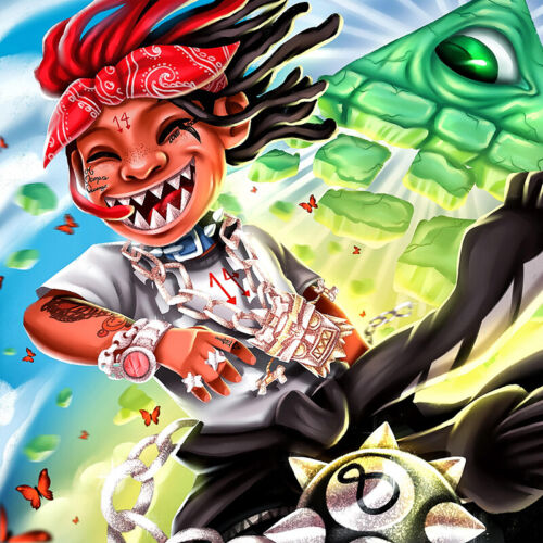 "Trippie Redd /""A Love Letter to You 3/"" Music Album HD Print Art Poster Wall Decor"