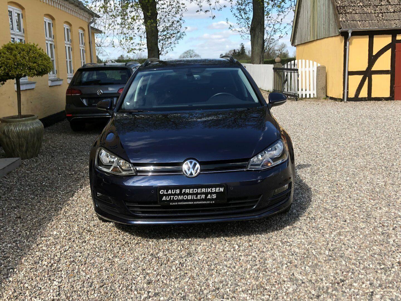 VW Golf VII 1,6 TDi 110 BlueMotion Variant 5d - 159.900 kr.