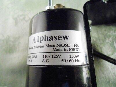 Motor /& Foot Control Kit Alphasew #FM190 110v