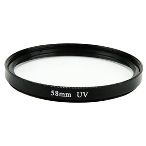 58mm-Glass-Multi-Coated-UV-Filtro-Para-Nikon-Nikkor-55-300mm-amp-50mm-Lente-f-1-4G