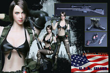 1/6 Metal Gear Solid Quiet Sexy Military Sniper For Hot Toys Phicen USA IN STOCK