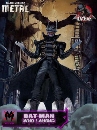 "MixMax 1//12 Batman Who Laughs Dark Nights Metal Kits Fit 6/"" Mezco Body"
