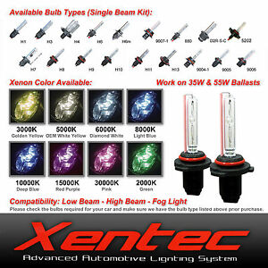 Details about Xentec Xenon Light 35W 55W HID Kit 's Replacement Bulbs H10  H11 9005 9006 5202