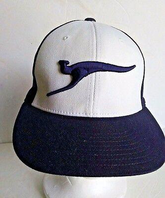 39cefb39 Details about RICHARDSON PTS20 Embroidered Kangaroo-Aussie Island Blue  White Baseball Hat S/M