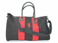 Ralph Lauren Parfums Polo Black & Red Weekend / Travel / Holdall Bag See Descrip