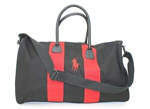 6e818186a93 RALPH LAUREN PARFUMS POLO BLACK   RED WEEKEND   TRAVEL   HOLDALL ...