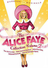 The Alice Faye Collection Vol. 2 (DVD, 2008, 5-Disc Set, Checkpoint Sensormatic Widescreen)
