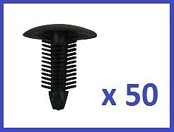 For all makes of cars. 10 x Fir Tree Trim Panel Clips to fit 10mm Hole