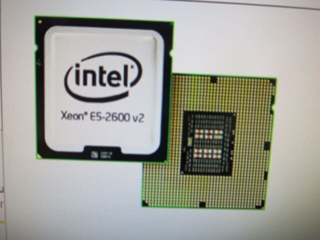 New Intel Xeon (SR19K) 12 Cores 1.80GHz 30MB L3Cache Socket LGA2011 Cpu no Fan
