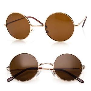 9a72189e3 Image is loading John-Lennon-Sunglasses-Round-Hippie-Shades-Retro-Smoked-