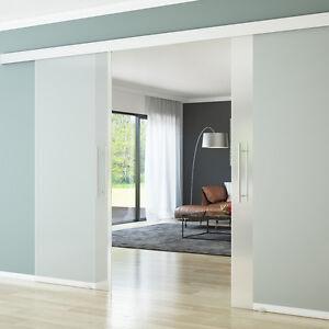 doppel glasschiebet r schiebet r glast r 2 fl gelig. Black Bedroom Furniture Sets. Home Design Ideas