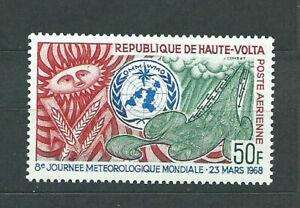 Haut-Volta-Aerienne-Yvert-48-MNH-Meteorologie