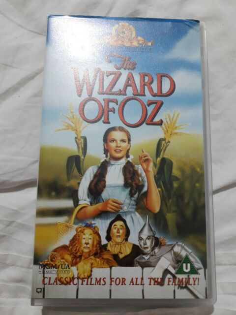 THE WIZARD OF OZ VHS Pal