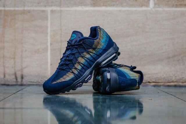 Nike Air Max 95 Ultra Jacquard Obsidian Lt Blue Fury