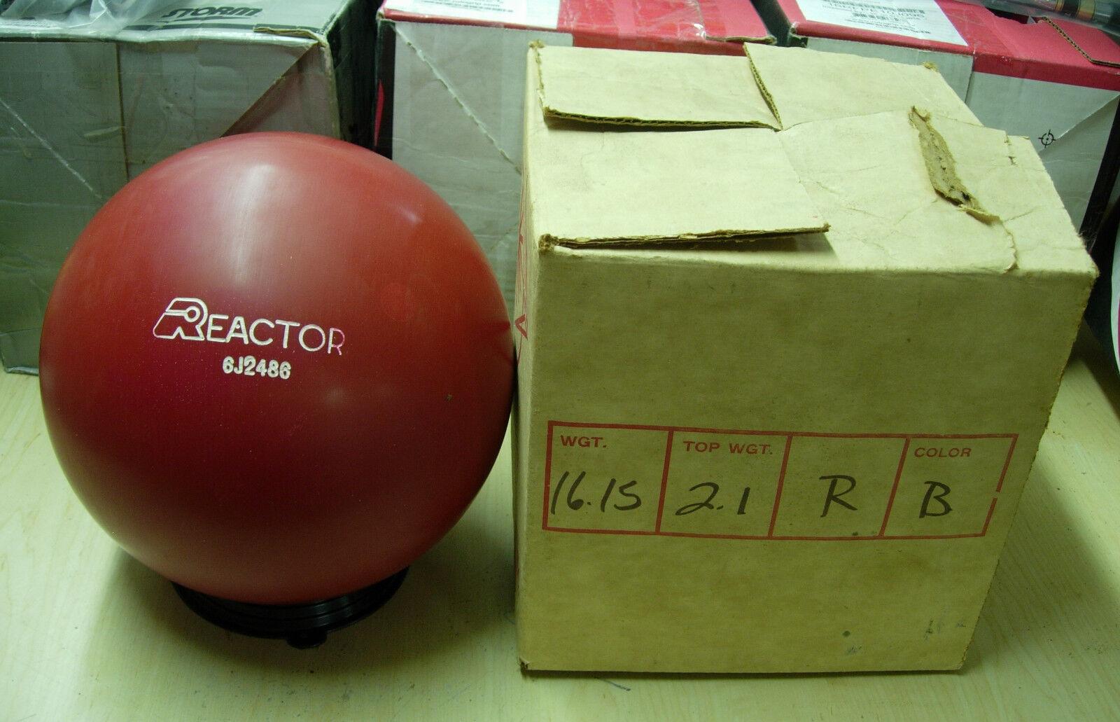 = 16.15, TW 2.1 Star Trak 1986 REACTOR Urethane Red Solid