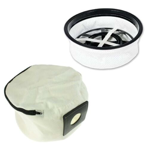 Tissu filtre couche lavable zip sac pour aspirateur numatic nuvac aspirateur