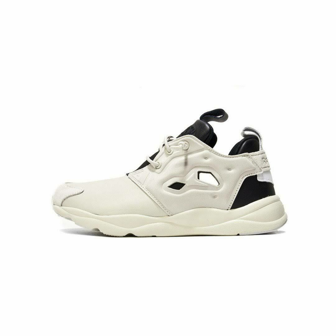 SALE MENS REEBOK FURYLITE AFF OATMEAL BLACK WHITE AQ9298 BRAND NEW IN BOX SHOES