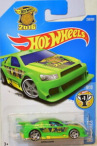 Hot wheels 2016 hw games amazoom 9 10 green ebay for 9 salon hot wheels 2016