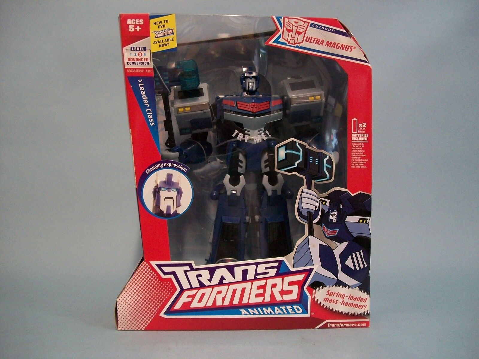 Transformers Animated Leader Class Autobot Ultra Magnus
