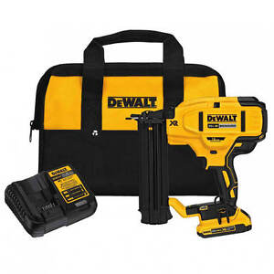 DEWALT DCN680D1 20-Volt MAX Lithium-Ion 18-Gauge Cordless Brad Nailer Kit