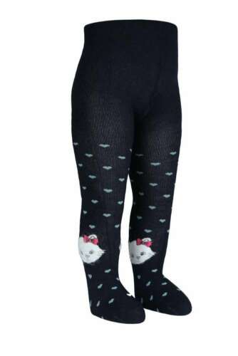 BROSS Baby Thermo-Strumpfhose Cats 1 Paar