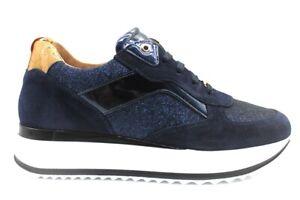 Scarpe da donna Alviero Martini 1 Classe 0744 sneakers casual sportive platform