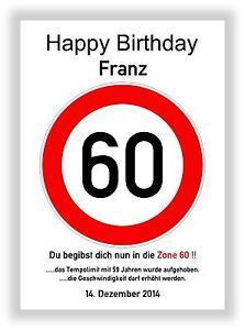 Verkehrszeichen-Schild-60-Geburtstag-Deko-Geschenk-persoenliches-Verkehrsschild