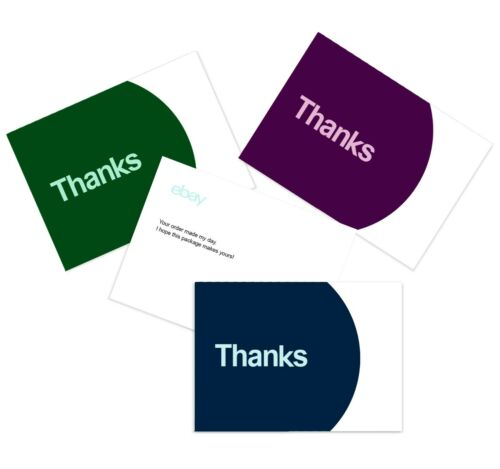 2020 HOLIDAY Thank you cards Blue and Purple Green