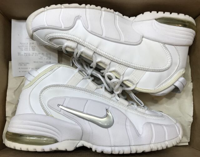 124aa37a3bcc 2001 Nike Air Max Penny 1 One White Metallic Silver OG Royal 630200 ...