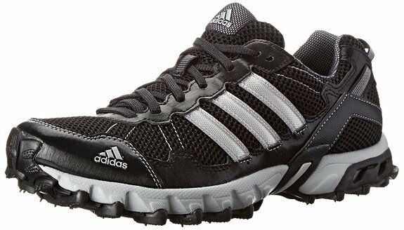 d05efcc8f2ff5 adidas Thrasher 1.1 Mens C75974 Black Silver Trail Running Hiking Shoes Size  8 for sale online | eBay