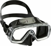 Cressi Sirena Black Scuba Diving And Snorkeling Mask - Black