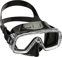 Cressi Sirena Black Scuba Diving And Snorkeling Mask - Black